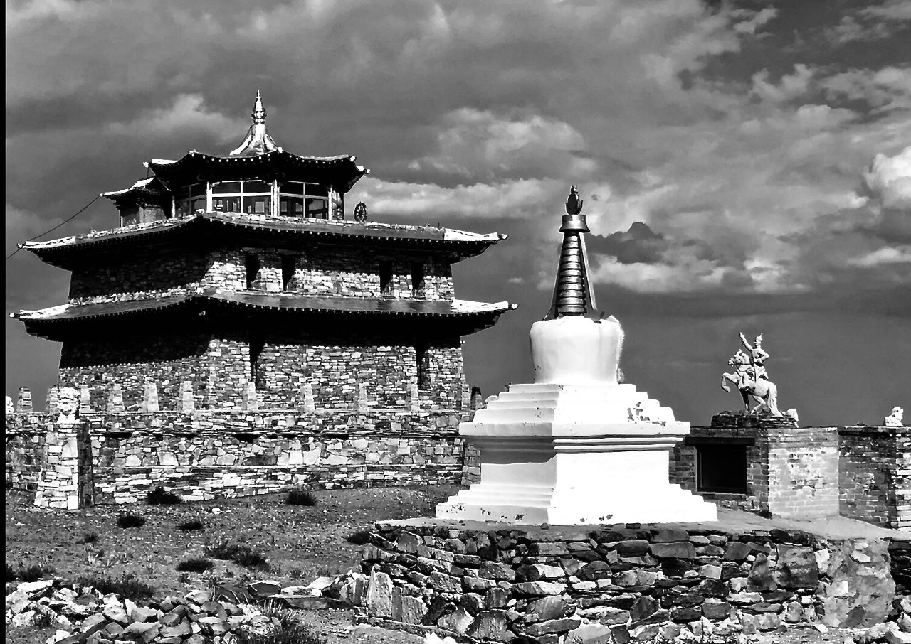Delgeruun Choira precinct. 15 July 2019. Photograph: Lobsang Sampel